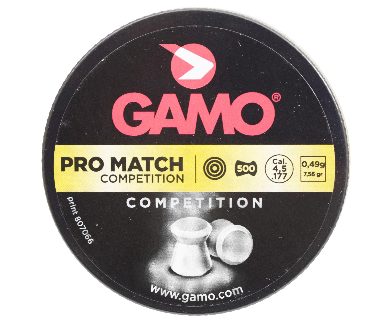 Пули пневматические Gamo Pro-Match 4.5 мм (500 шт, 0.51 г)