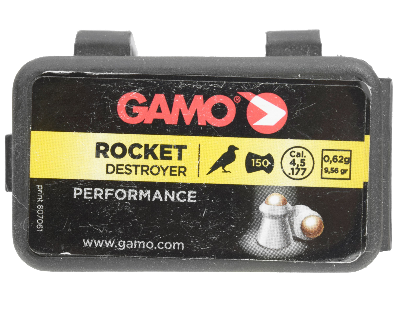 Пули пневматические Gamo Rocket 4.5 мм (150 шт, 0.6 г)