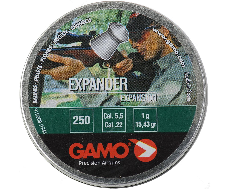 Пули пневматические Gamo Expander 5.5 мм (250 шт, 1 г)