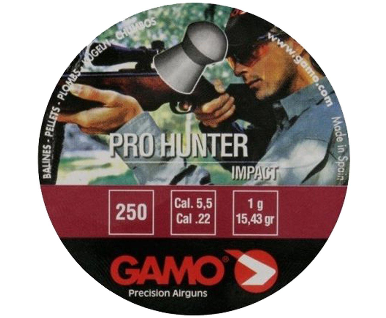 Пули пневматические Gamo Pro-Hunter 5.5 мм (250 шт, 1 г)