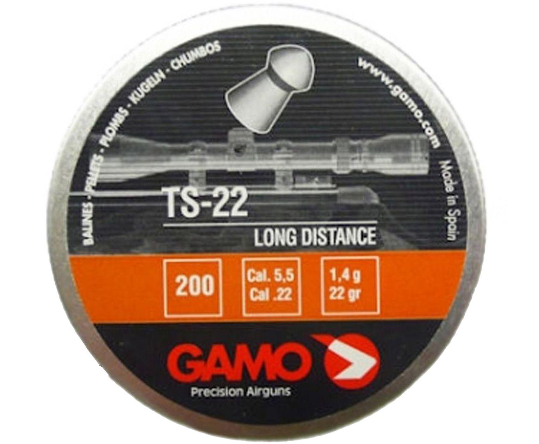 Пули пневматические Gamo TS-22 5.5 мм (200 шт, 1.4 г)