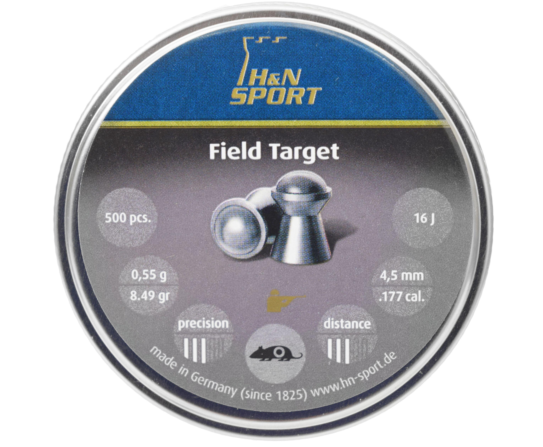 Пули пневматические H&N Field Target 4.5 мм (500 шт, 0.55 г)