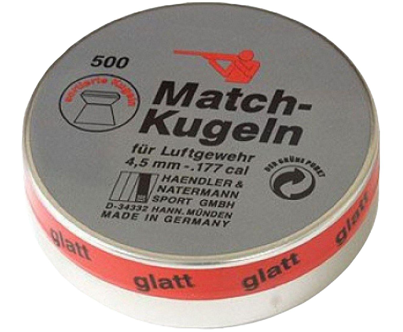 Пули пневматические H&N Match Kugeln 4.5 мм (500 шт, 0.49 г)