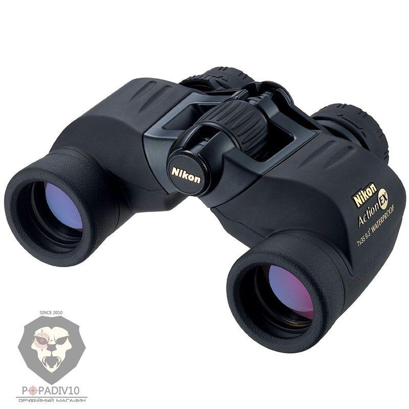Бинокль Nikon Action EX 7х35 WP, шт
