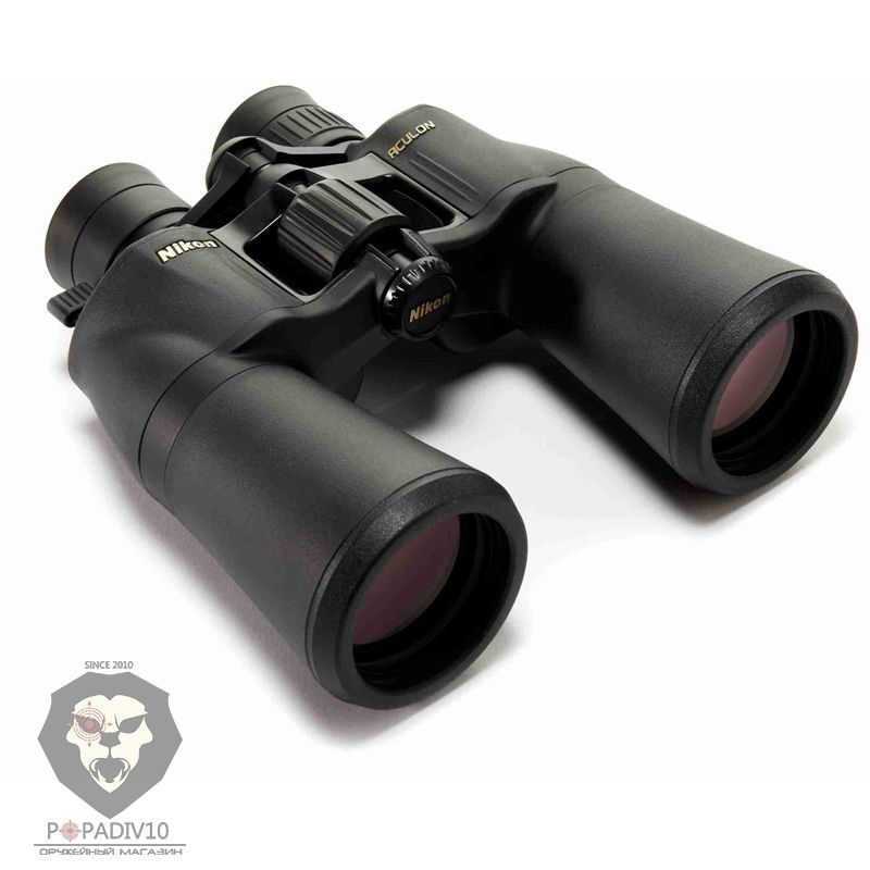 Бинокль Nikon Aculon A211 10-22x50, шт
