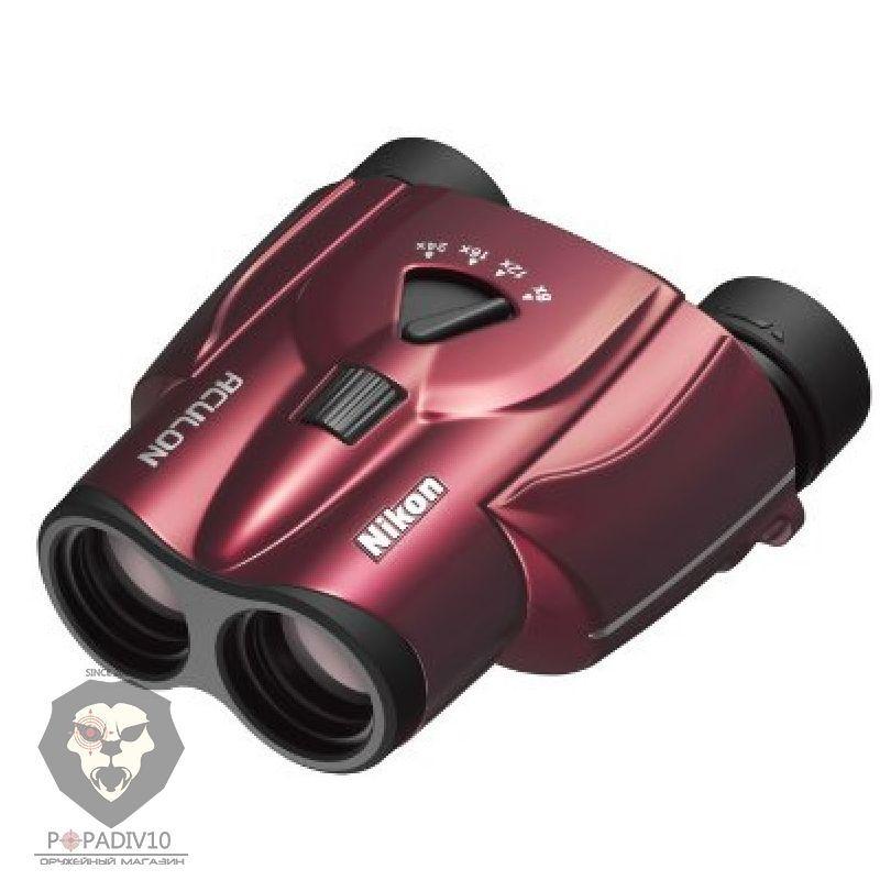 Бинокль Nikon Aculon T11 8-24x25 Zoom красный, шт