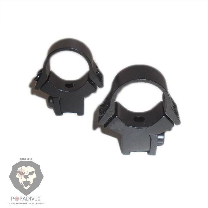 Кольца раздельные низкие Norin Type 2 (25 мм, Ласточкин хвост)