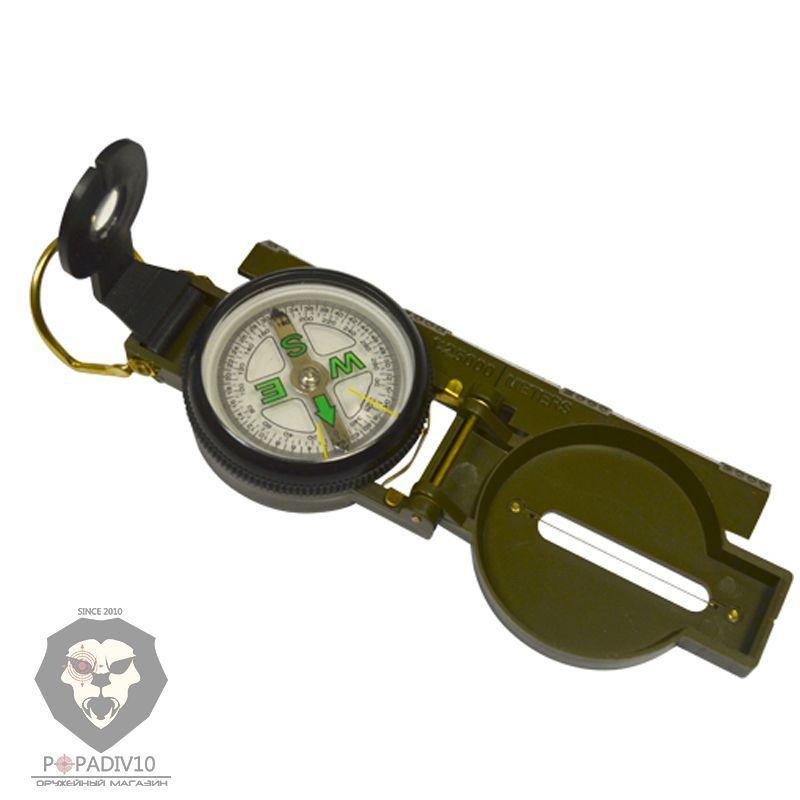 Компас ДС 45-5В, мет. корпус, зеленый, шт