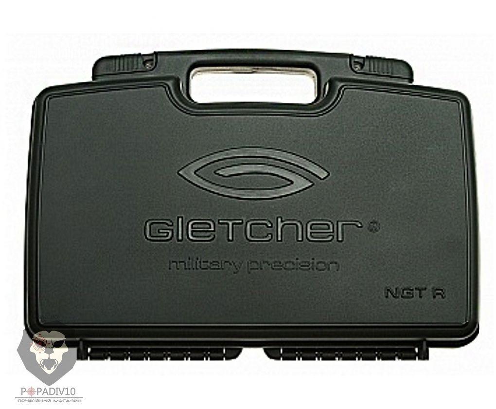 Кейс для револьверов Наган Gletcher NGT R (Black, Silver)