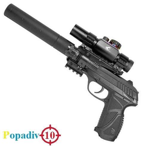 Пневматический пистолет GAMO PT-85 Tactical Blowback pellet