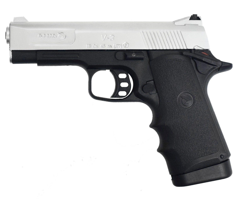 Пневматический пистолет Gamo V3 silver