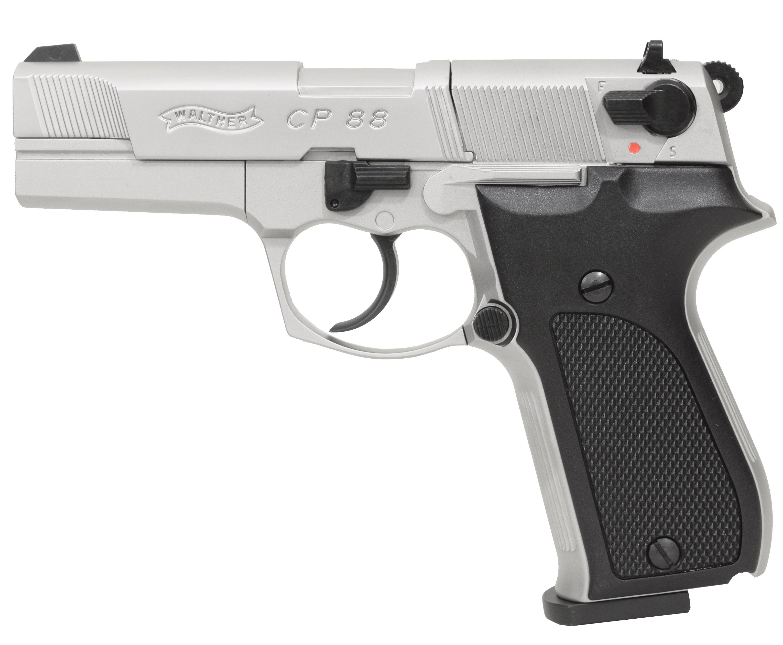 Пневматический пистолет Umarex Walther CP 88 никель