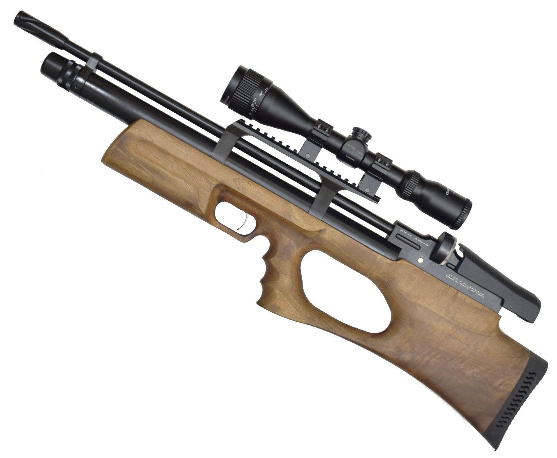 Винтовка пневматическая Kral Puncher Breaker 3W PCP (5.5 мм, дерево)