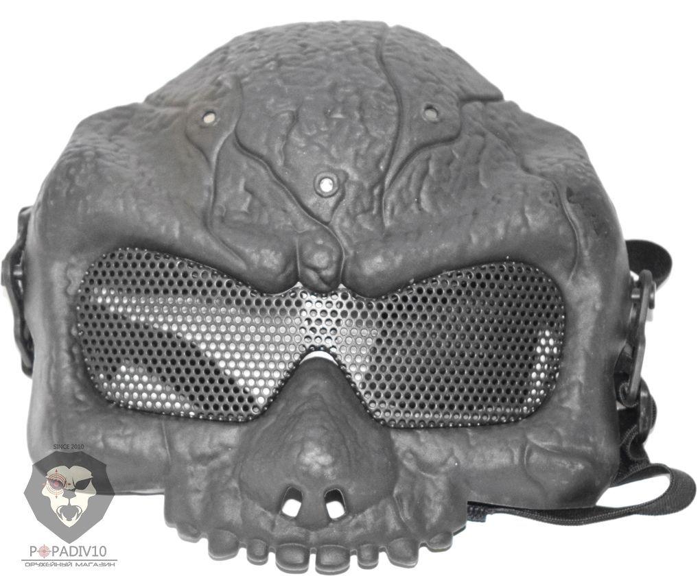 Защитная маска Zombie (черная)