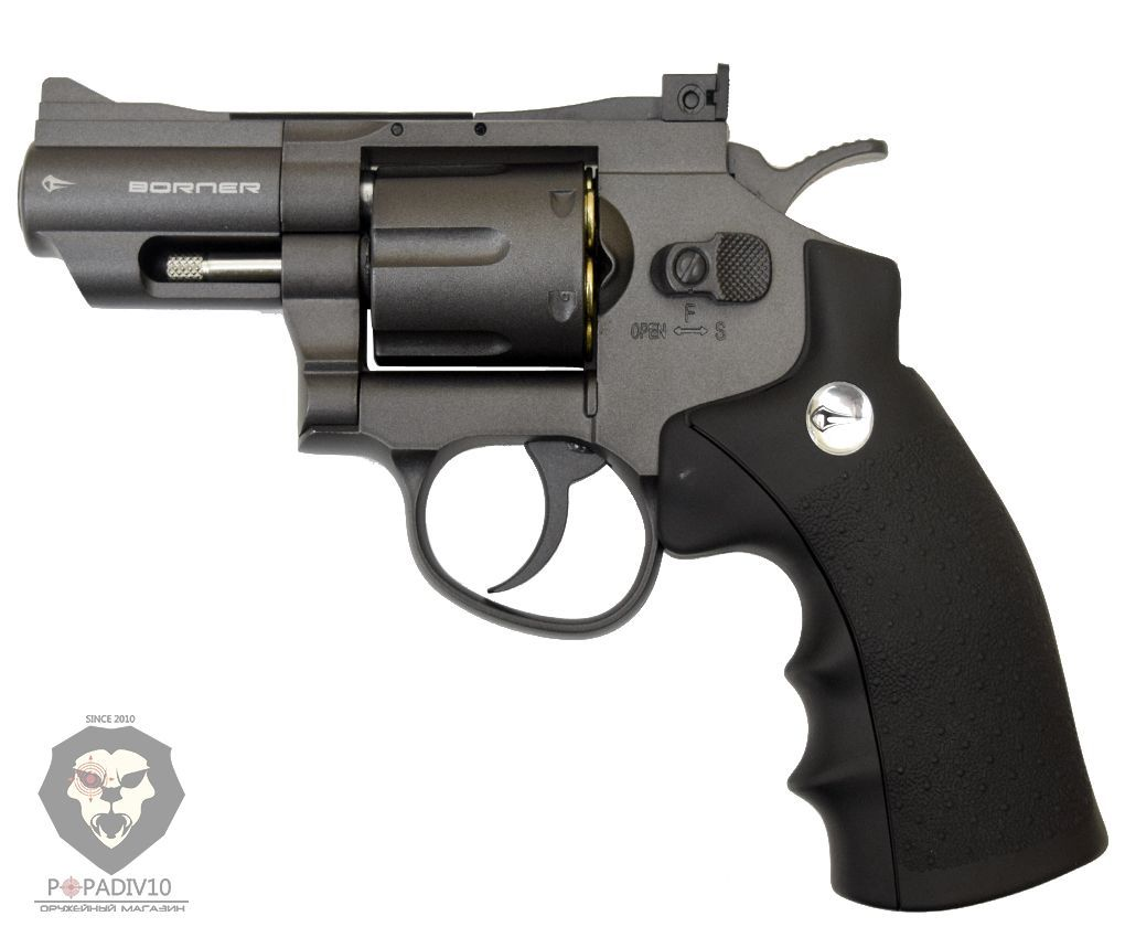 Пневматический револьвер Borner Super Sport 708
