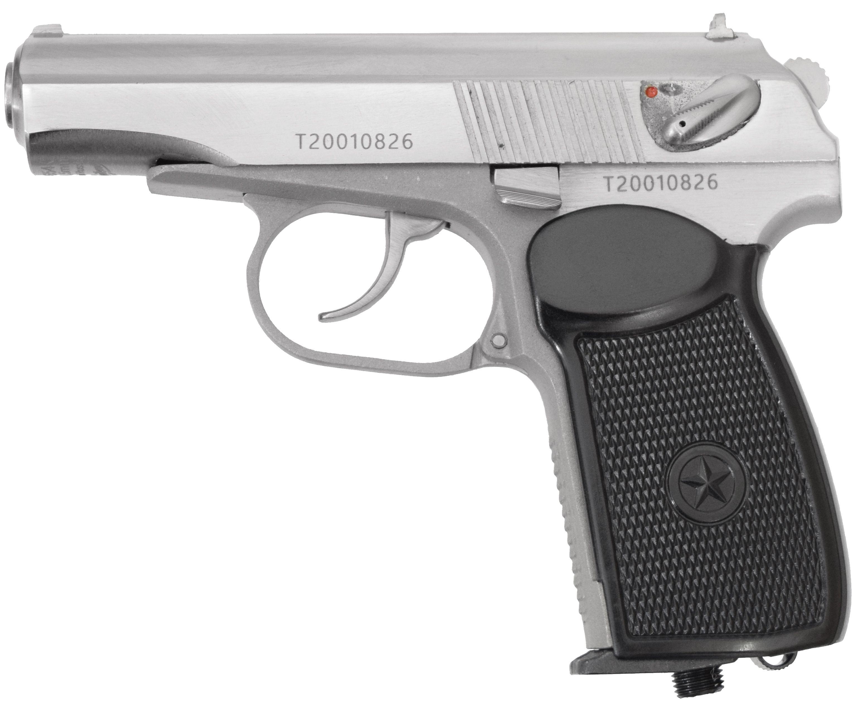 Пневматический пистолет мр 654к 24 Белый (Байкал)