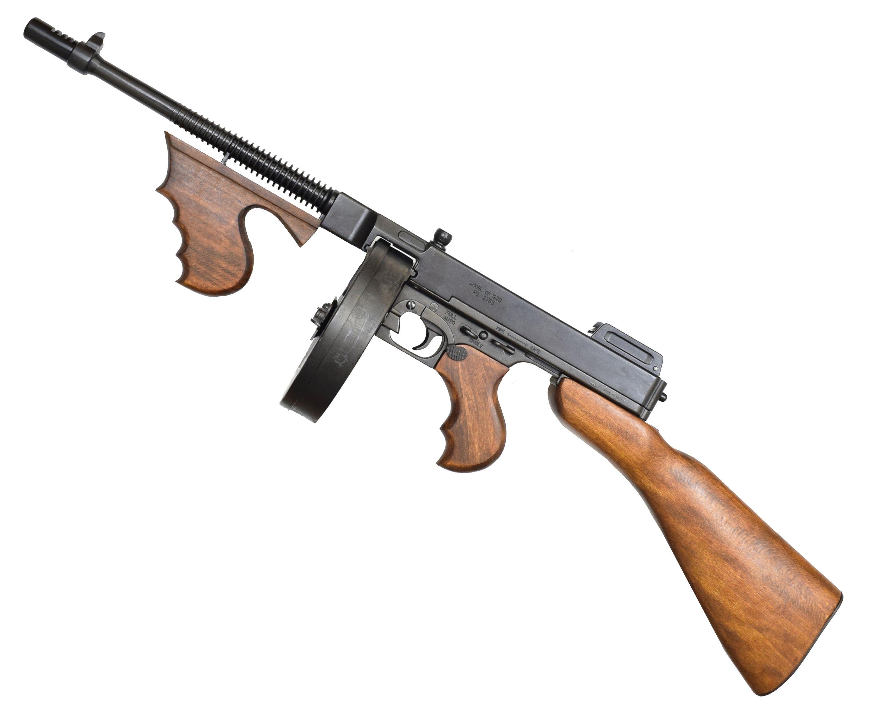 Макет пистолет пулемета Denix D7/1092 Thompson (ММГ, гангстерский Томпсон)