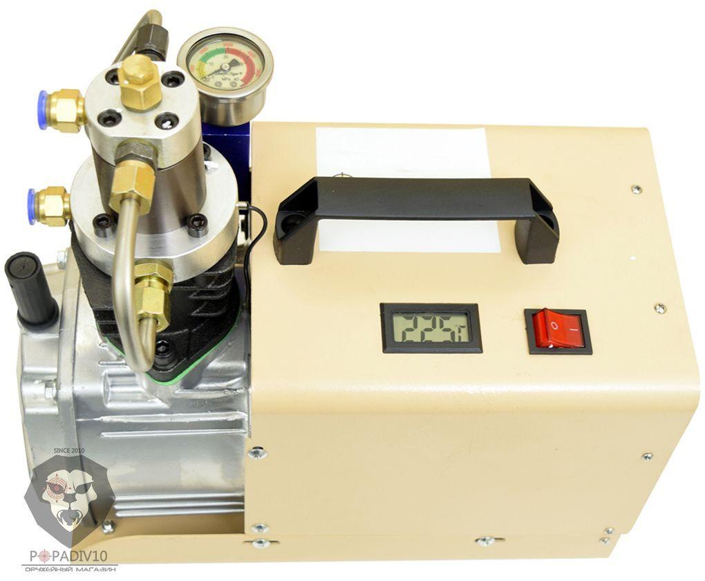 Компрессор электрический Patriot C4 1.8 kW для PCP винтовок (50 л/мин)
