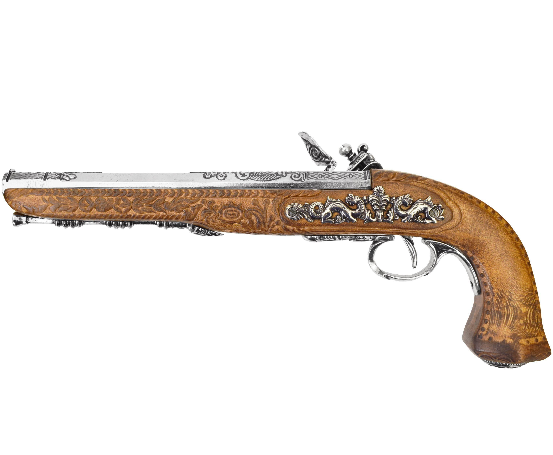 Макет пистолета дуэльного Denix D7/1084NQ (ММГ, никель)