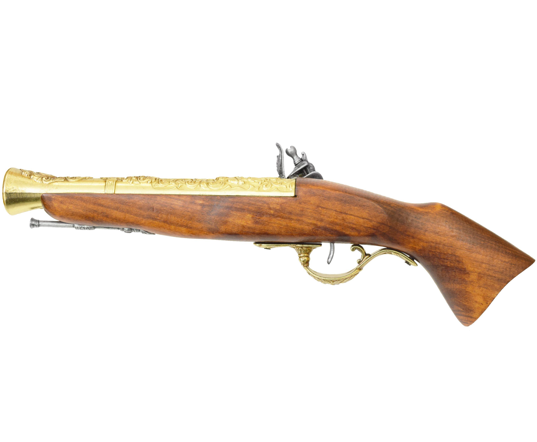 Макет мушкета кремниевого Denix D7/1231L (ММГ, латунь)