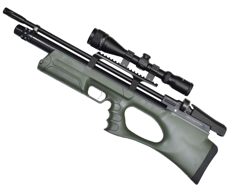 Винтовка пневматическая Kral Puncher Breaker 3 Army Green PCP (5.5 мм, зеленая)
