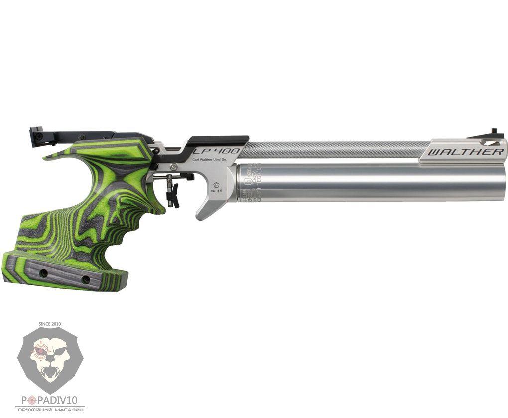 Пневматический пистолет Umarex Walther LP 400 Carbon RE M Green Pepper PCP