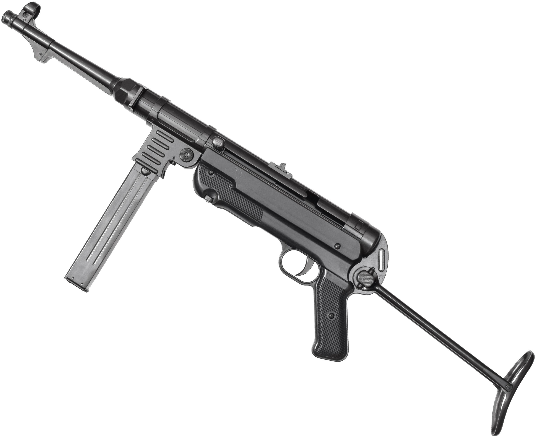 Макет пистолета-пулемета Denix D7/1111 MP-40 (ММГ, Шмайсер)