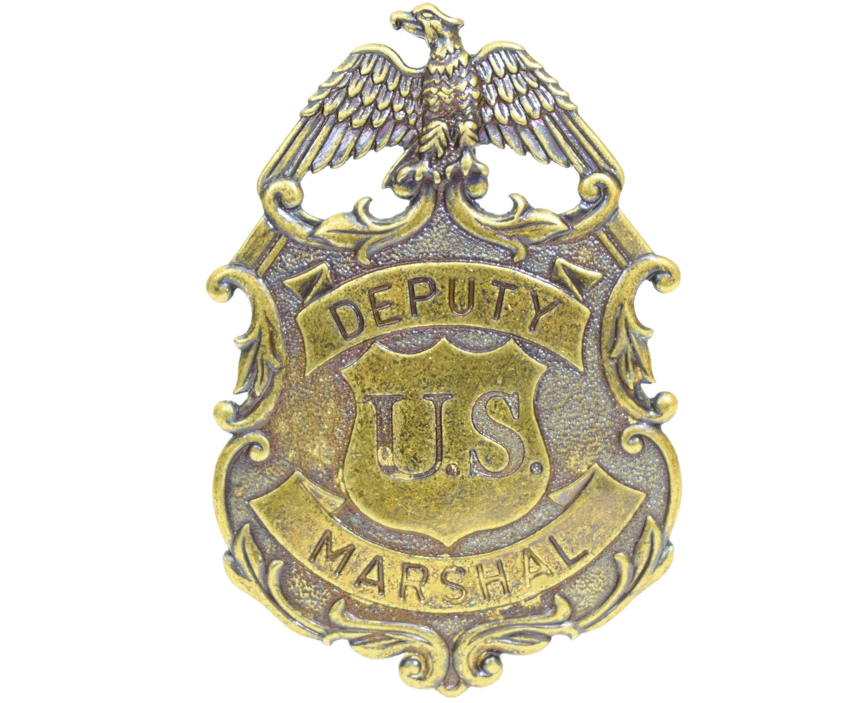 Значок Deputy U.S. Marshal Denix D7/112L (латунь)
