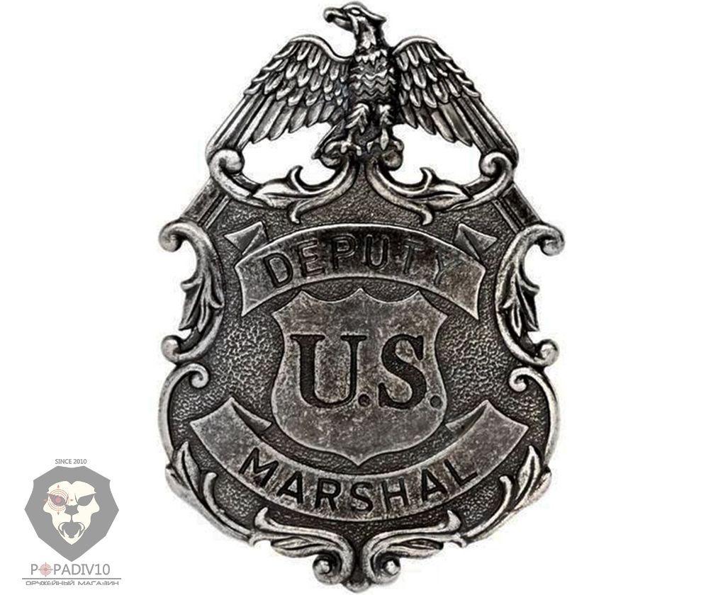Значок Deputy U.S. Marshal Denix D7/112NQ (никель)