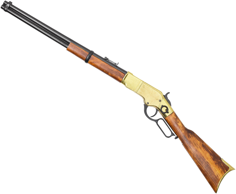 Макет винтовки Winchester 1866 Denix D7/1140L (ММГ, Винчестер, латунь)