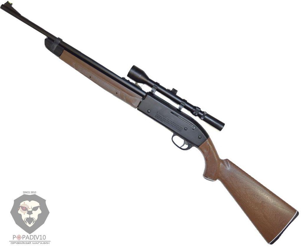 Пневматическая винтовка Crosman 2100 B (прицел 3-7x28)