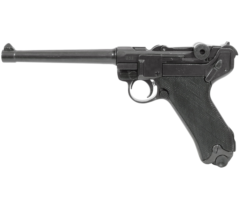 Макет пистолета Люгера Denix D7/1144 Parabellum P 08 (ММГ, Парабеллум)