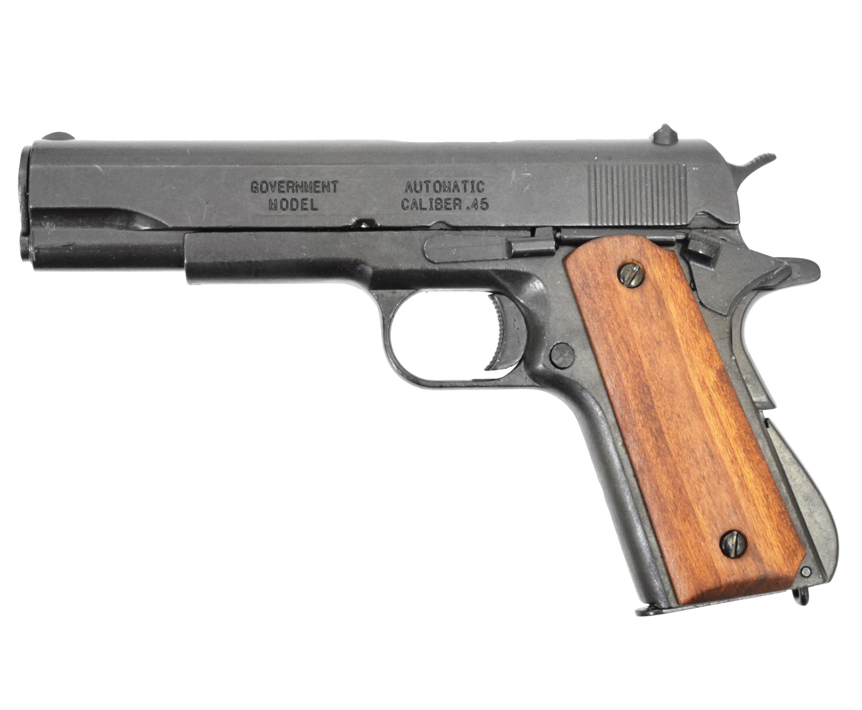 Макет пистолета Denix D7/9312 Colt 1911A1 (ММГ, Кольт)