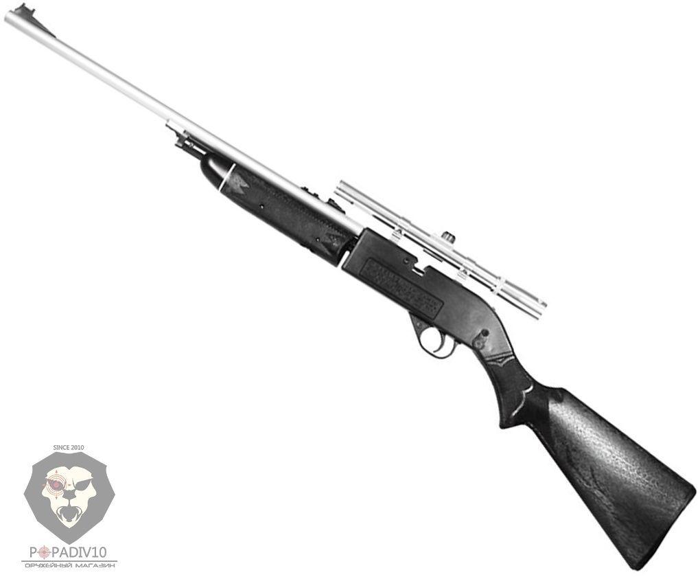 Пневматическая винтовка Crosman 664 SB (прицел 4х15)