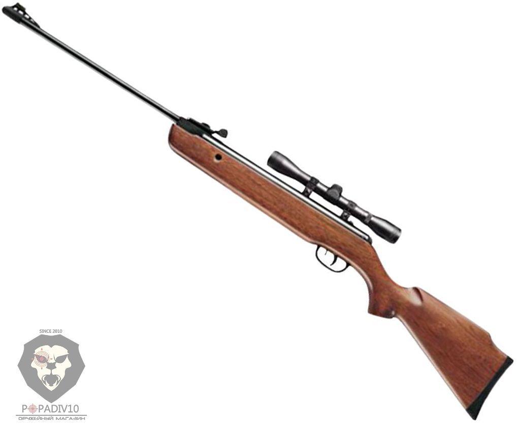 Пневматическая винтовка пневматическая Crosman C1K77X Quest 1000 (прицел 4х32, дерево)