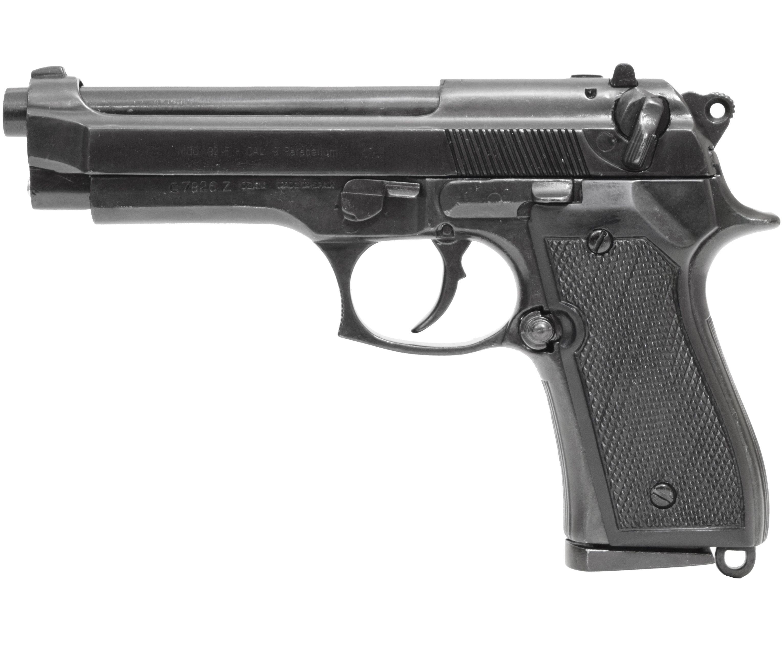 Макет пистолета Denix D7/1254 (Beretta 92F, ММГ)