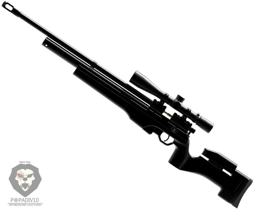 Пневматическая винтовка Ataman M2R Тактик Тип I 225/RB (5.5 мм, PCP, чёрная)