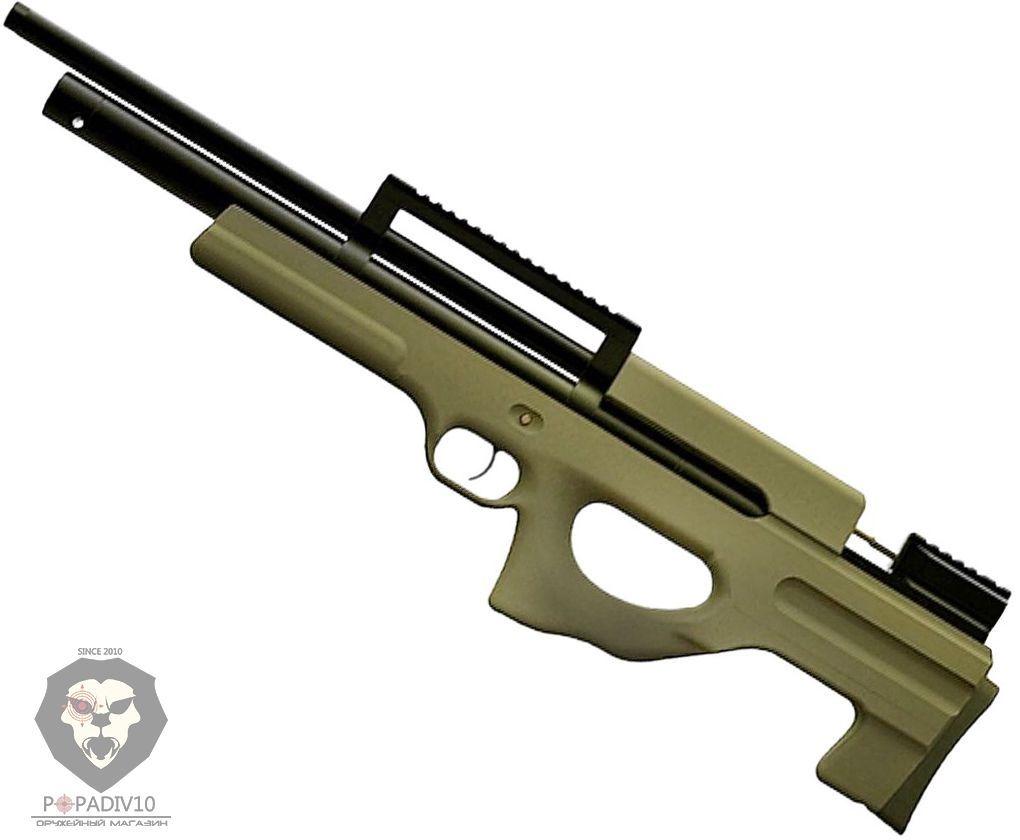 Пневматическая винтовка Ataman M2R BullPup 436/RB SL (6.35 мм, зеленая, PCP)