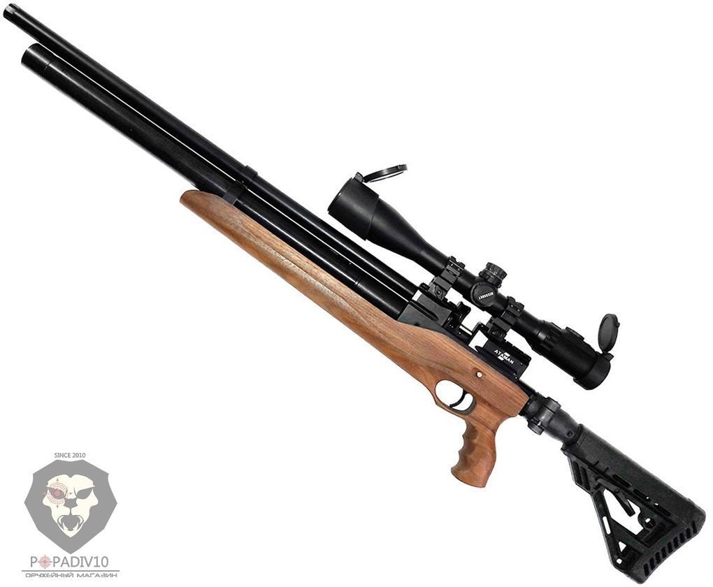 Пневматическая винтовка Ataman M2R Type 4 Tactical Carbine 616/RB SL (6.35 мм, PCP, дерево)