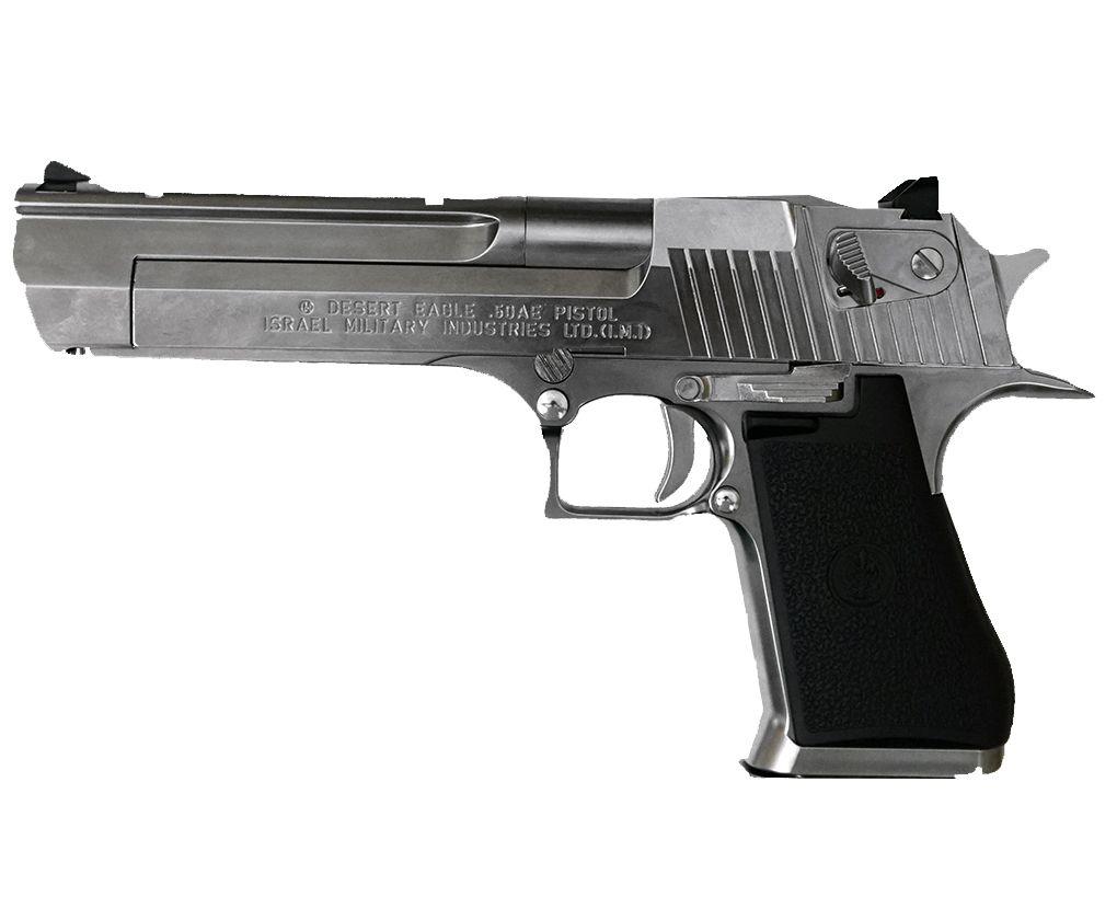 Страйкбольный пистолет Tokyo Marui Desert Eagle (Хром, Blowback)