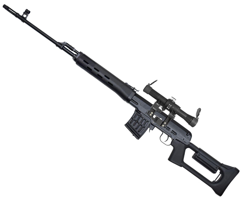 Макет Снайперская винтовка Драгунова ММГ СВД (стационарный приклад, пластик)