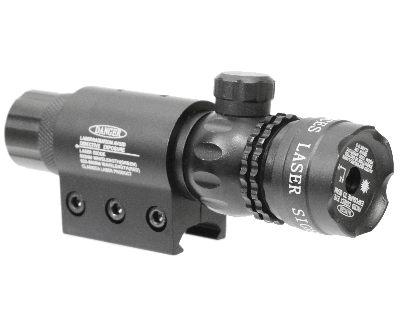 Лазерный целеуказатель Patriot BH-LR01 (Weaver, красный, подствольный)
