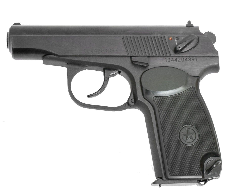Охолощенный ПМ 411 Кованый (пистолет Макарова)