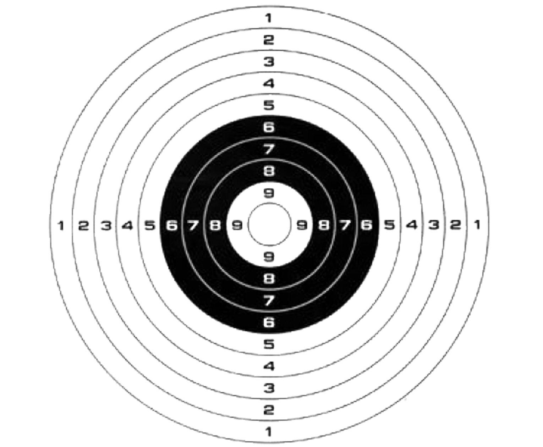 Мишень Patriot BH-T140 (140х140 мм)