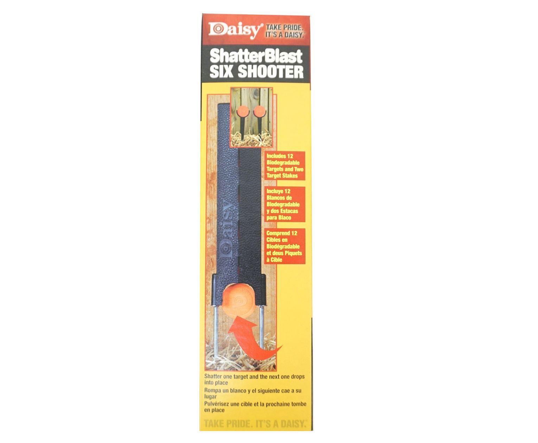 Мишень Daisy Shatter Blast Six Shooter (876)