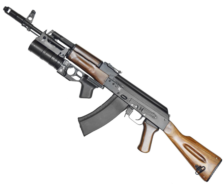 Макет автомата АК-74 с подствольным гранатометом (ММГ, 5.45 мм)
