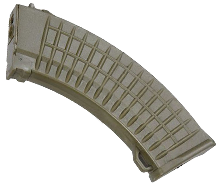Магазин бункерный Cyma C42 Tan (Страйкбол, AK-серия)