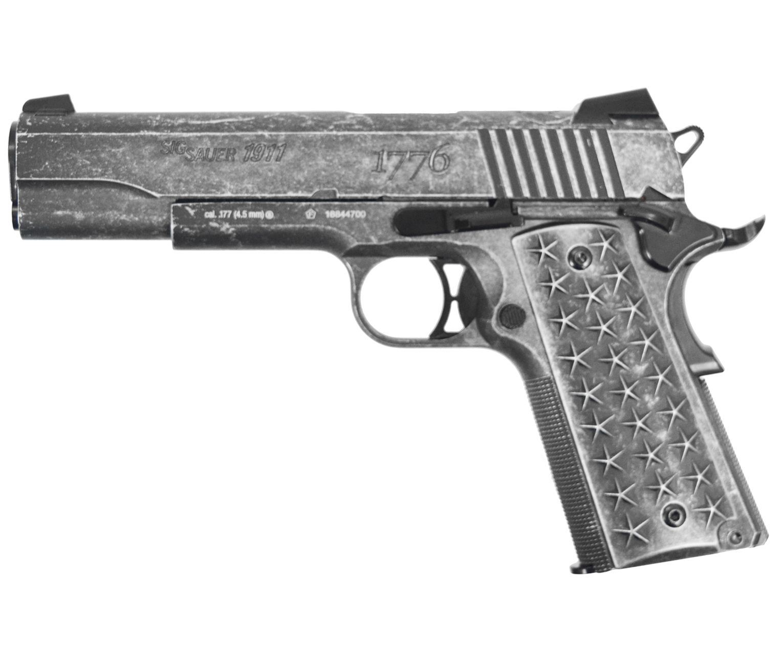 Пневматический пистолет Sig Sauer 1911 We The People ( 4.5 мм)