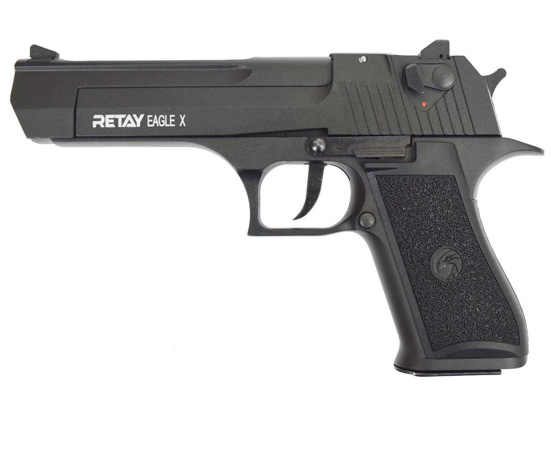 Охолощенный пистолет Retay Eagle X (Desert Eagle, black)