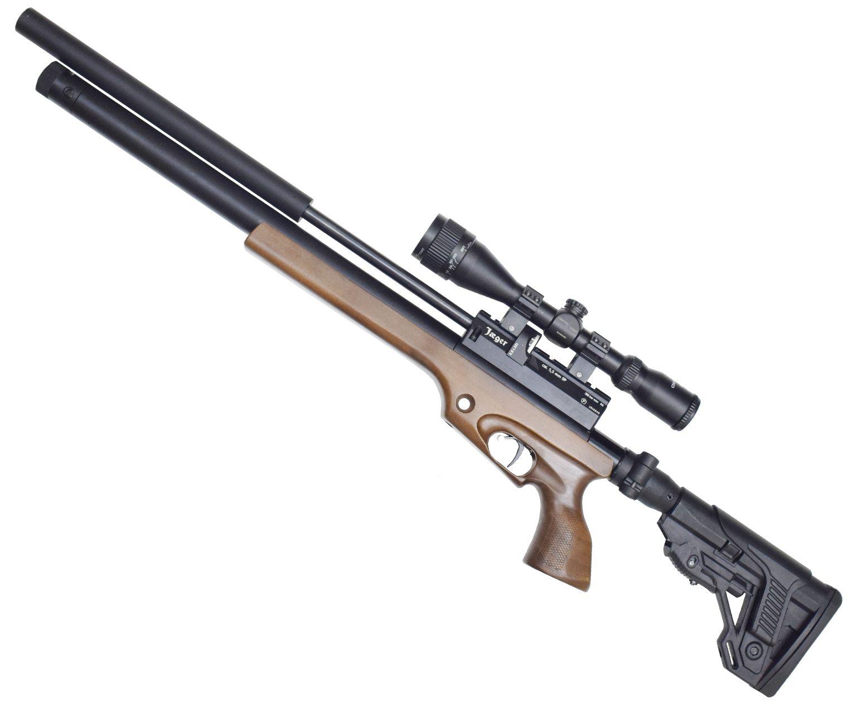 Пневматическая винтовка Jager SP 5.5 мм (Карабин, 450 мм, складной приклад)
